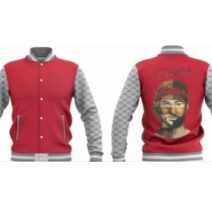 Jacket - Red and Gray Combo